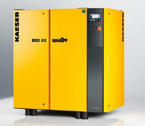Compressore a vite BSD 83 raffreddato ad aria 6,85 m³/min 1