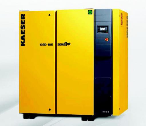 Compressore a vite CSDX 140 raffreddato ad aria 11,83 m³/min