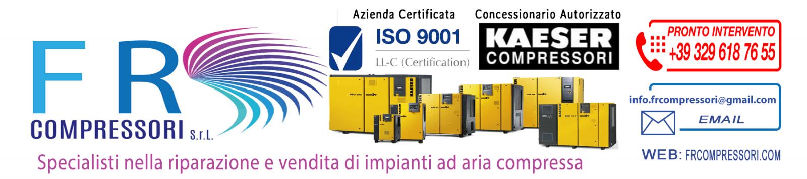 Vendita ed assistenza compressori industriali nuovi e usati