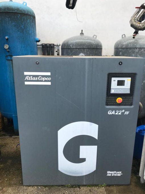 compressore usato atlas copco 1