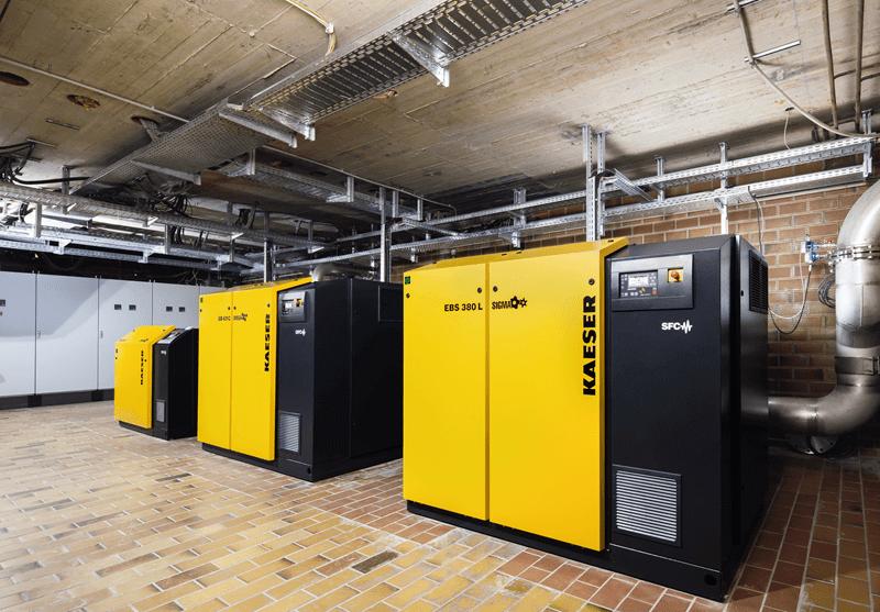 Sistemi soffianti e compressori per l'industria Tessile 6