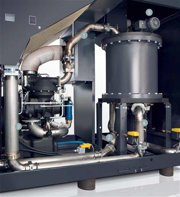 Recupero calore con i compressori a vite 1